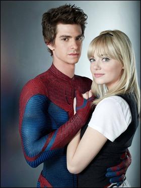 Los nuevos Peter Parker y Gwen Stacy