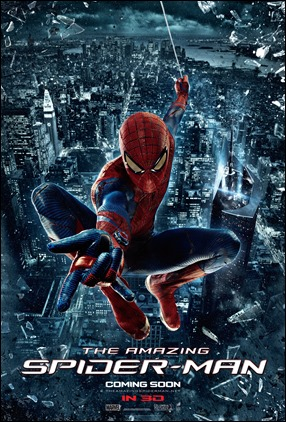Poster de la primera entrega de The Amazing Spider-Man