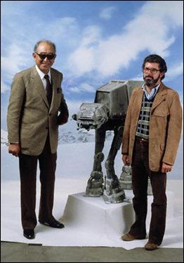 Akira Kurosawa y George Lucas