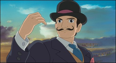 El conde Caproni, maestro o doble de Jiro