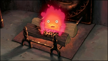 El entrañable demonio Calcifer