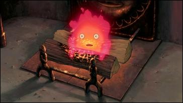El entrañable demonio Calcifer
