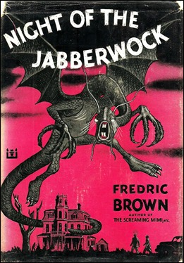 Portada de la edición americana de The Night of the Jabberwock