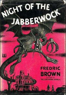 Portada de la edición americana de The Night of the Jabberwock