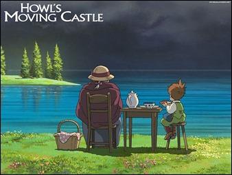 Un plano muy propio de Miyazaki