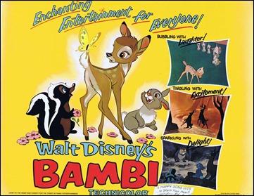 Cartel de Bambi