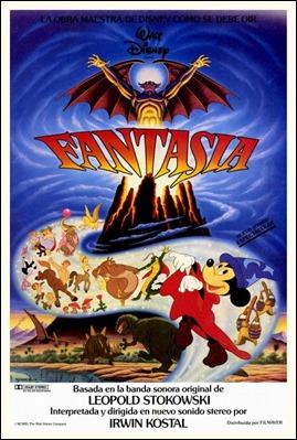 Cartel de Fantasía, de 1940