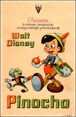 Cartel de Pinocho