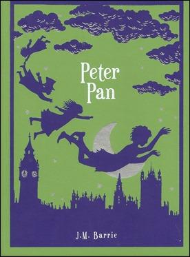 Edición inglesa de Peter Pan, de J. M. Barrie