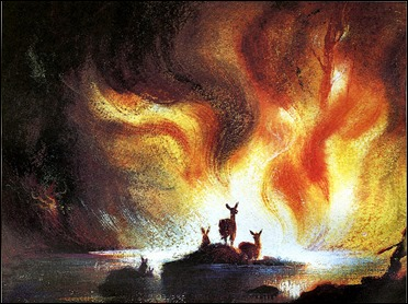 El incendio final de Bambi