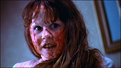 El mal se encarna en la niña Linda Blair