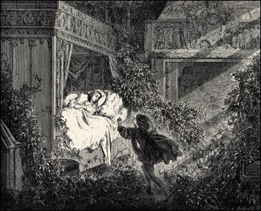 La Bella Durmiente, por Gustave Doré