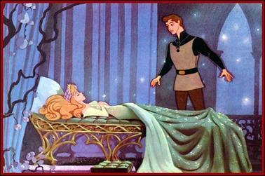 La bella durmiente y el príncipe encantador