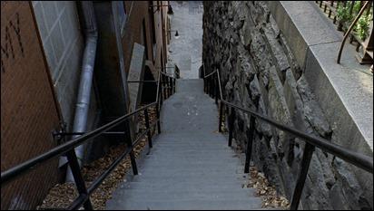 Las siniestras escaleras de la calle M