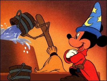 Mickey, el aprendiz de brujo