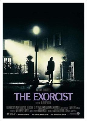 Mítico poster de El exorcista