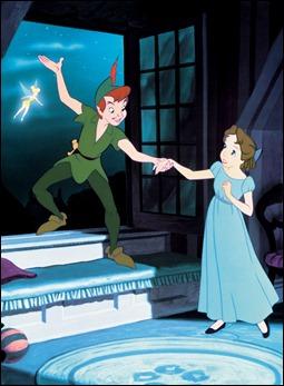 Peter Pan, Weny y Campanilla, menudo triángulo