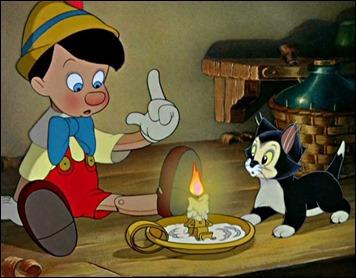 Pinocho y su asombro