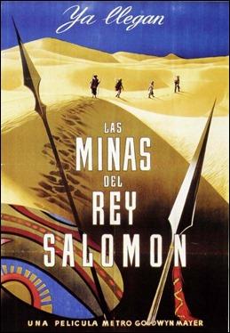 Bonito anuncio español de Las minas del rey Salomón