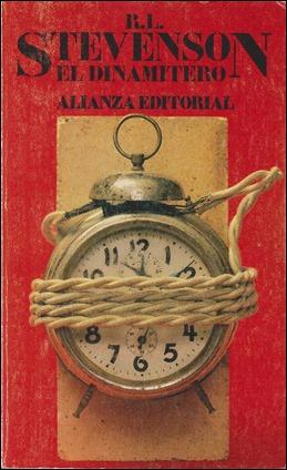 Portada de Alianza Editorial para El dinamitero