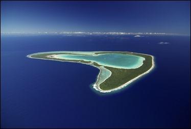 Un atolón como este vale para los cuentos de Stevenson