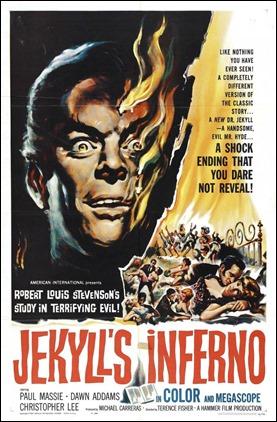 Cartel americano de Las dos caras del dr. Jekyll