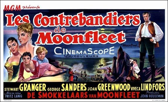 Cartel francés de Moonfleet
