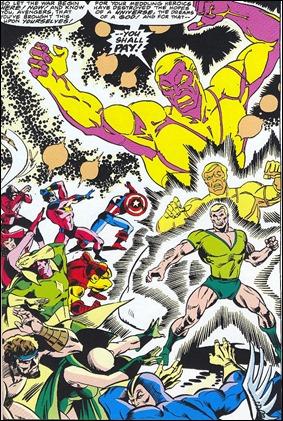 Comienza la batalla final entre los Vengadores y Michael