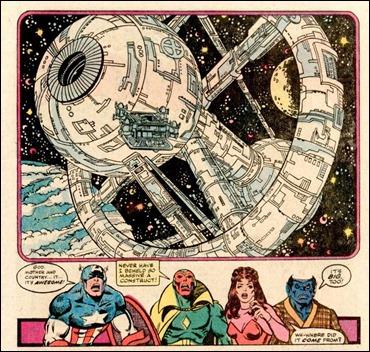 Dique Seco, la estación espacial de los Guardianes de la Galaxia