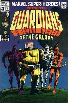 El nacimiento de los Guardianes de la Galaxia, por Gene Colan