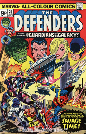 Los Guardianes reaparecen en The Defenders # 26