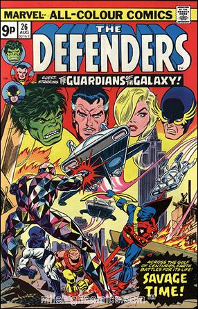 Los Guardianes reaparecen en The Defenders # 26