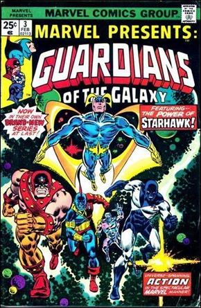 Primer número de la colección en solitario de los Guardianes de la Galaxia