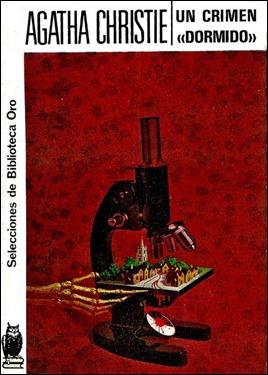 Primera edición de Un crimen dormido en Editorial Molino