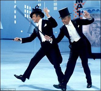 Una de las pocas veces que bailaron juntos Gene Kelly y Fred Astaire