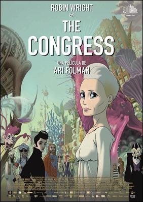 Cartel original de  El congreso, de Ari Folman