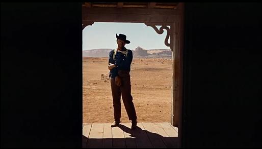 El imborrable plano final de Centauros del desierto