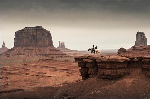 El increíble Monument Valley de los westerns de Ford