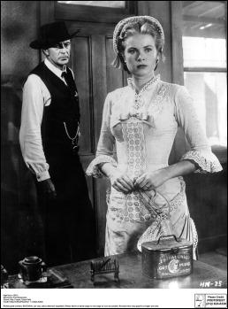 Grace Kelly como la joven cuáquera Amy