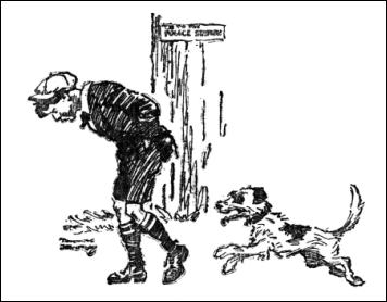 Guillermo y su fiel perro Jumble