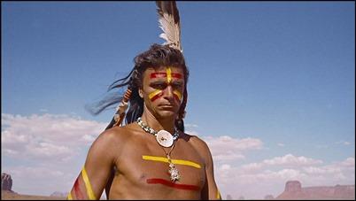 Henry Brandon, Cicatriz, un jefe indio muy poco indio