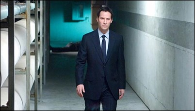 Keanu Reeves, implacable... o inexpresivo