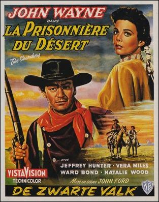 La prisionera del desierto, estupendo título francés para Centauros del desierto