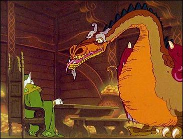 Carolinus y su dragón