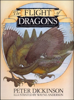 El libro The Flight of Dragons, de Peter Dickinson