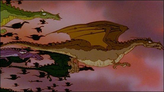 El vuelo de los dragones