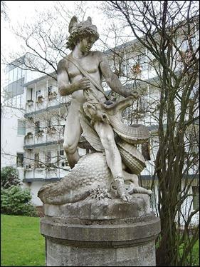 Estatua de Sigfrido, en Bremen