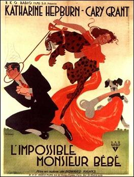 Estupendo cartel francés de La fiera de mi niña