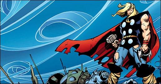 Imagen promocional de Thor, por Walt Simonson