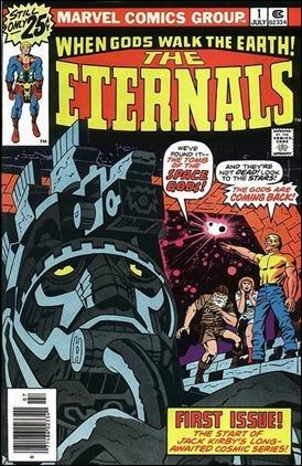 Primer número de Los Eternos, por Jack Kirby